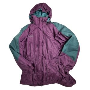 Vintage 90s Columbia snow jacket removable lining
